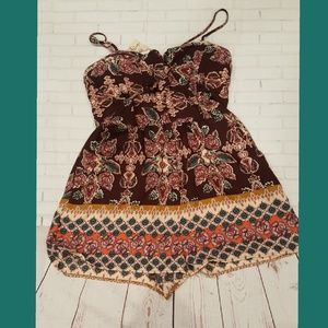 About A Girl Romper - Size XL  NWT!